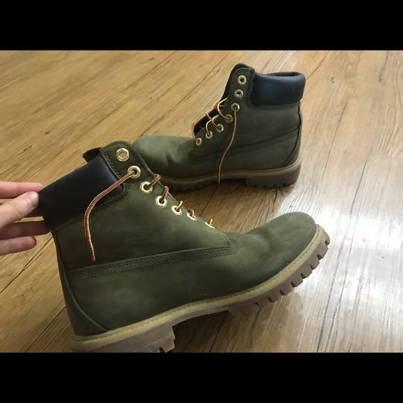 Super Timberland Shoes | Olive Green Mens 8 | Poshmark @QA54